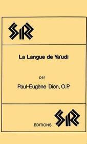 La Langue de YA'Udi