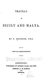 Travels in Sicily and Malta