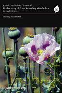 Annual Plant Reviews  Biochemistry of Plant Secondary Metabolism PDF