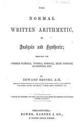 The Normal Written Arithmetic  Etc PDF