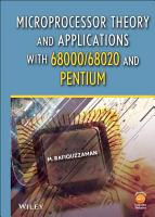 Microprocessor Theory and Applications with 68000 68020 and Pentium PDF