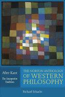 The Norton Anthology of Western Philosophy