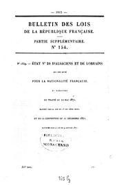 Bulletin des lois de la République Française: Volume3;Volume5