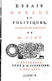 Essais Moraux Et Politiques: Volume6