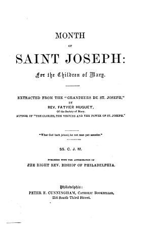 Month of Saint Joseph