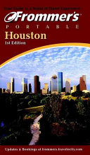 Frommer s Portable Houston PDF