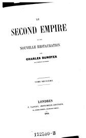 Le Second Empire et une Nouvelle Restuaration