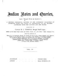 Indian Notes and Queries PDF