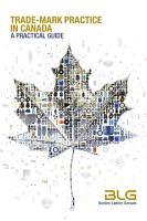 Trade Mark Practice in Canada PDF