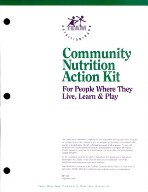 Community Nutrition Action Kit PDF