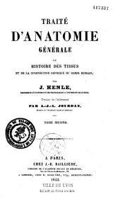Encyclopédie anatomique, comprenant l'anatomie descriptive, l'anatomie générale,...