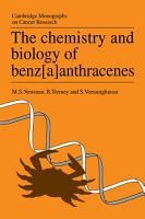 The Chemistry and Biology of Benz a anthracenes PDF