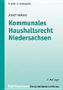 Kommunales Haushaltsrecht Niedersachsen PDF