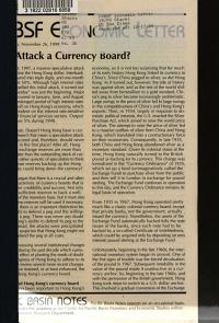 Why Attack a Currency Board