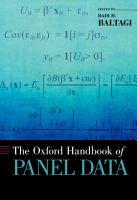 The Oxford Handbook of Panel Data PDF