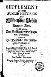Auxilia historica oder Behülff zu denen historischen und dazu erforderlichen Wissenschafften: Band 4