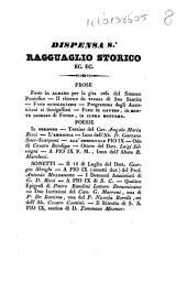 Ragguaglio storico di quanto è avvenuto in Roma e in tutte le provincie dello Stato pontificio in seguito del perdono accordato dalla santità di N. S. papa Pio 9. come dal suo editto del 16 luglio 1846: Volume 8