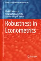 Robustness in Econometrics PDF