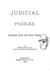 Judicial Puzzles: Gathered from the State Trials