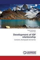 Development of IDF Relationship