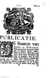 Publicatie: De Staaten van Holland en Westvriesland