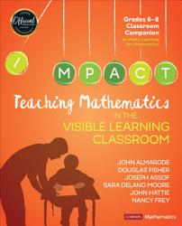 Teaching Mathematics In The Visible Learning Classroom Grades 6 8 Book PDF