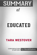 Summary of Educated by Tara Westover  Conversation Starters