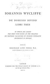 Wyclif's Latin works: Volume 30