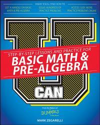 U Can  Basic Math and Pre Algebra For Dummies PDF