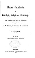 Neues Jahrbuch f  r Mineralogie  Geologie und Pal  ontologie PDF