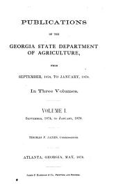 Publications: Volume 1