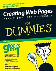Creating Web Pages All in One Desk Reference For Dummies PDF