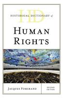 Historical Dictionary of Human Rights PDF
