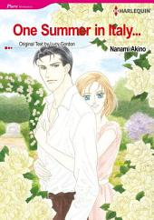 One Summer in Italy: Harlequin Comics