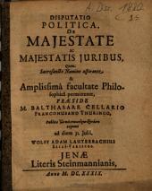 Disputatio Politica, De Maiestate ac Maiestatis Iuribus