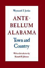 Ante Bellum Alabama PDF