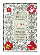 Der Adel der Fürstenthümer Lippe und Schaumburg-Lippe