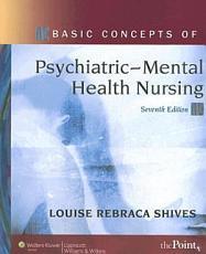 Basic Concepts of Psychiatric mental Health Nursing PDF