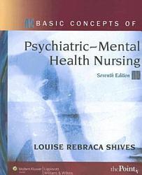 Basic Concepts Of Psychiatric Mental Health Nursing Book PDF