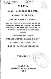 Vida de Federico, baron de Trenck