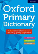 Oxford Primary Dictionary 2018 PDF