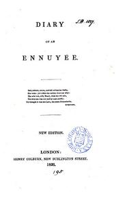 Diary of an ennuyée [by A.B. Jameson].