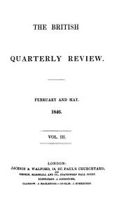 The British Quarterly Review: Volume 3