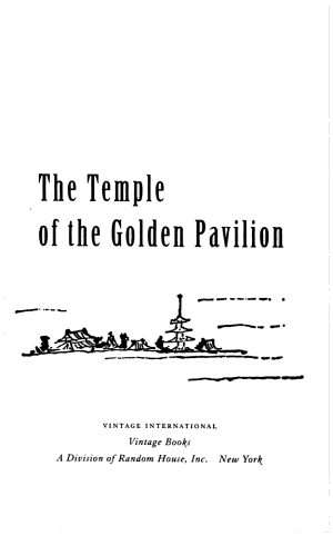 The Temple of the Golden Pavilion