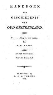 Handboek der geschiedenis van Oud-Griekenland, ter vertaling in het Latijn