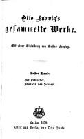 Otto Ludwig s gesamelte werke PDF