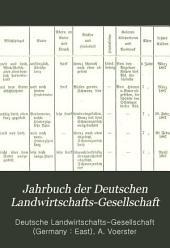 Jahrbuch der Deutschen Landwirtschafts-Gesellschaft: Bände 1-2