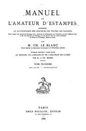 Manuel de l'amateur d'estampes: Melchiori-Szymonowitx, 1858-88