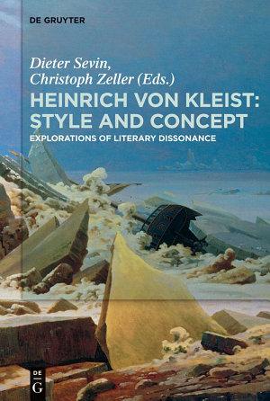 Heinrich von Kleist  Style and Concept PDF