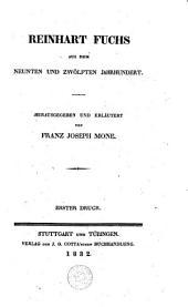 Reinhart Fuchs: aus dem neunten und zwölften Jahrhundert